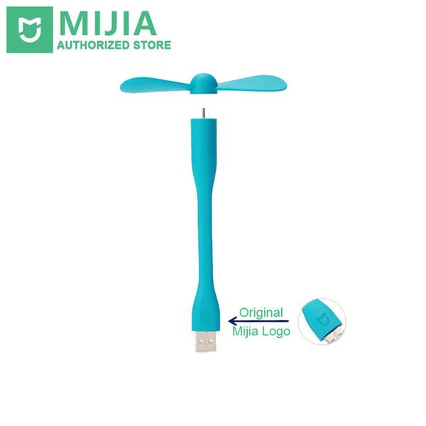Original Xiaomi Mijia USB Fan Flexible USB Portable Mini Fan For Power Bank&Notebook&Laptop&Computer Power-saving