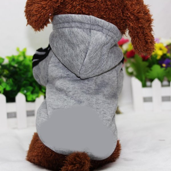 Wholesale Autumn and Winter Classic Portable Clothing Outdoor Sports Dogs Sweater Pet Hoodie Dog Keep Warm Costume for Free Shiping