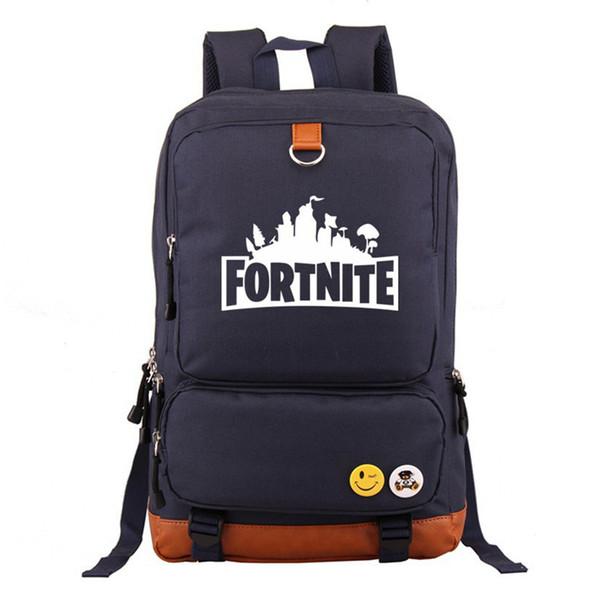 Fortnite Battle Royale Travel Backpack Unisex Kids School Shoulder Bags Backpack Teenager Students Bag Sports Tote Xmas