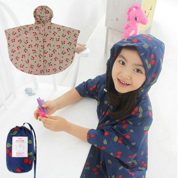 Japan Children And Adults Rain Coat Poncho Women Fashion Cute Raincoats Kids Waterproof Raincoat Poncho For Child