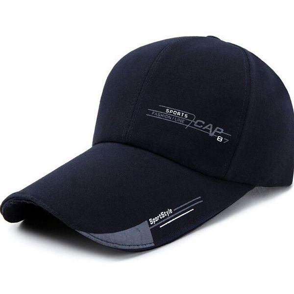XEONGKVI Spring Autumn Letter Baseball Caps Brand Cotton Canvas Fishing Hats For Men Snapback Peaked Cap Casquette 56-60cm