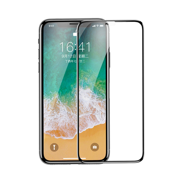 compatible new mobile phone film HD explosion-proof membrane surface full coverage anti-seeking tempered film for iPhone X