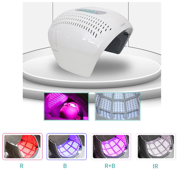 New arrive ! LED Light PDT Therapy Acne Treatment Machine Red,Blue, IR Light LED Face Mask Anti-Aging
