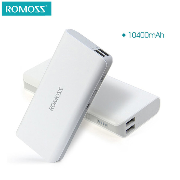 ROMOSS Sense 4 10400mAh For Xiaomi mi4 Portable Charger External Battery Pack Power Bank Fast Charging For iPhone Samsung