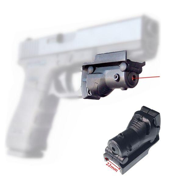 FIRECLUB Taktische Jagd 5mw Roter Laser-Anblick-Bereich Roter Punkt-Anblick für G19 23 22 17 21 37 31 20 34 35 37 38 Caza