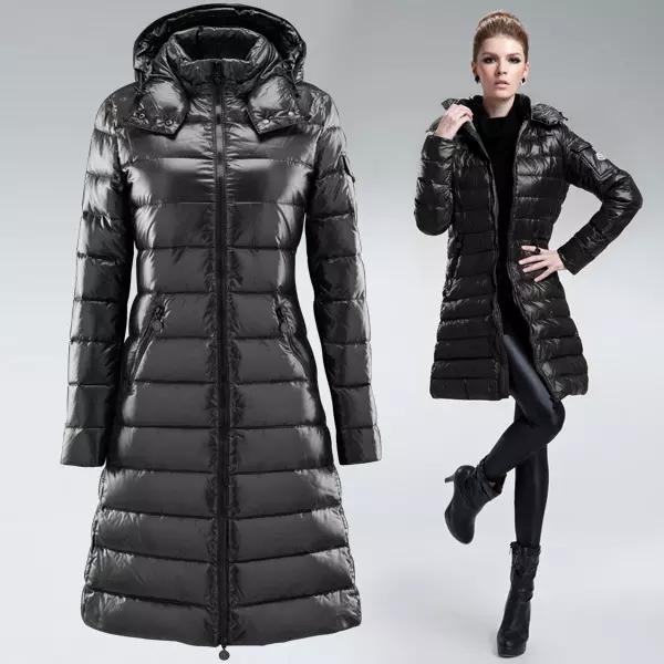 Moda Marca Mulheres Winter Jackets Anorak outerwear Jacket Long Down das mulheres mornas para baixo casacos longos espessamento Roupa feminina Parkas