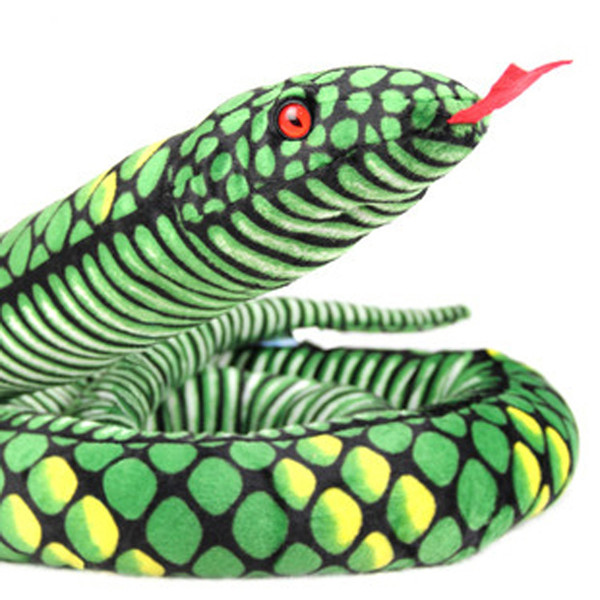 2018 High quality Snake Plush Stuffed Animal Best Business Gifts For Your Children,Boys,Girls and Friends