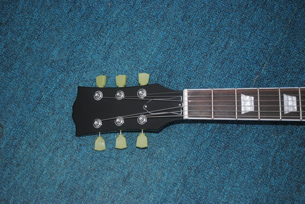 NO BRAND FREE shipping high quality classale 6 strings black F COLOR Beauty Electric guitar
