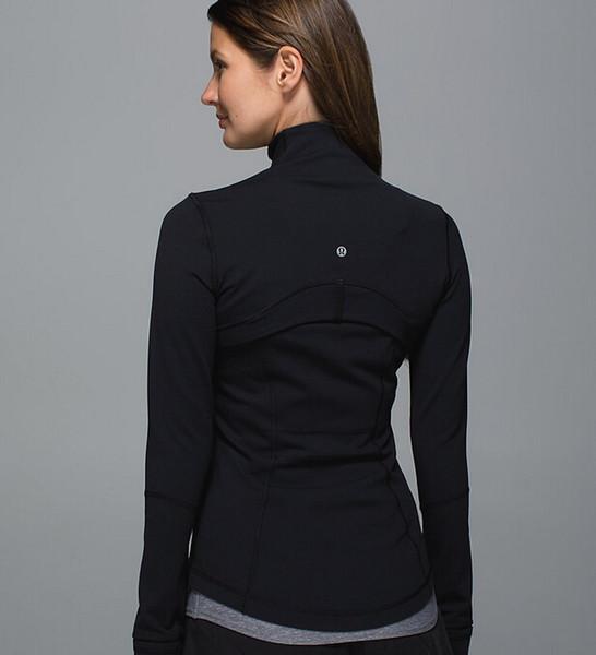 Compre Otoño Invierno Marca Yoga Elástico Gimnasio Camisas Mujeres ...