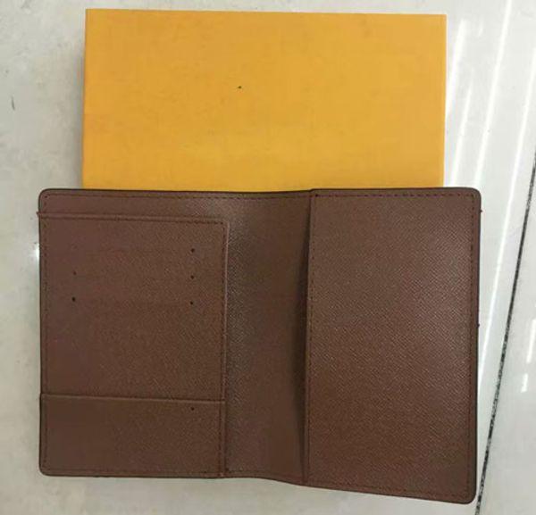 diseñador de lujo marca de las mujeres carteras de cuero pasaporte cubierta de la marca titular de la tarjeta de credt hombres negocio titular de pasaporte billetera carteira masculina