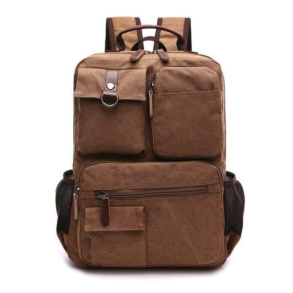 ff40e91f20 New Arrive Korea Original Z.L.D Canvas Leather Men Travel Bags Duffel Bags