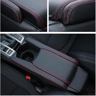 Acheter Noir Pu Cuir Centre Accoudoir Box Case Cover Set Fit Pour 2016 2018 Honda Civic De 3217 Du Electronicworld001 Dhgatecom