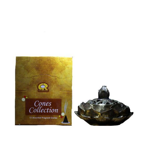 Top Índia incenso cone 17 tipos de torre incenso Aroma Natural Aromático Quarto Artificial Cone S $