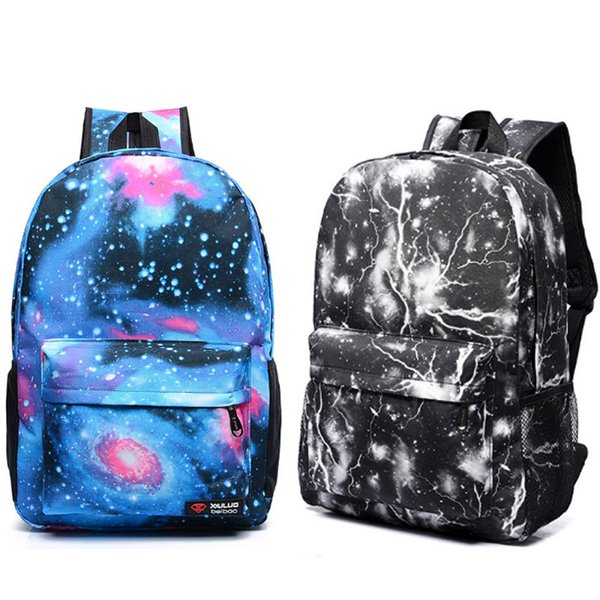 Fashion Backpack Galaxy Stars Universe Space Printing Backpacks For women men school backpack bag Outdoor Travel bag