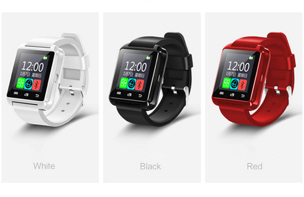 Fashion!Bluetooth Smart Watch U8,Smartwatch for iPhone 5S 6 6S 6 plus 7 7s 8 Samsung S6 S7 Note 4 Note 5 HTC Android Phone Smartphones