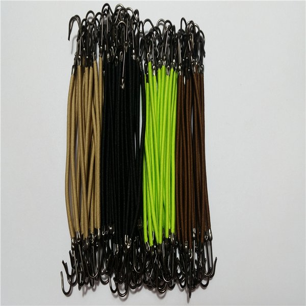 4pcs/lot Elastic Hair bands gum hook ponytail holder Bungee Hair thick/curly/unruly styling tools Accessories
