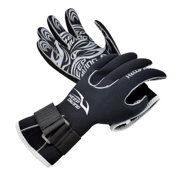 Neoprene Scuba Dive Gloves Snorkeling Equipment Anti Scratch Keep Warm Material Winter Swim Spearfishing 3mm New Arrival