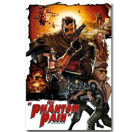 2019 Metal Gear Solid V The Phantom Pain Art Silk Poster Print 13x20 24x36 Inch Solid Snake Gme Wall Pictures For Home Decor 07 From Tobies 6 84