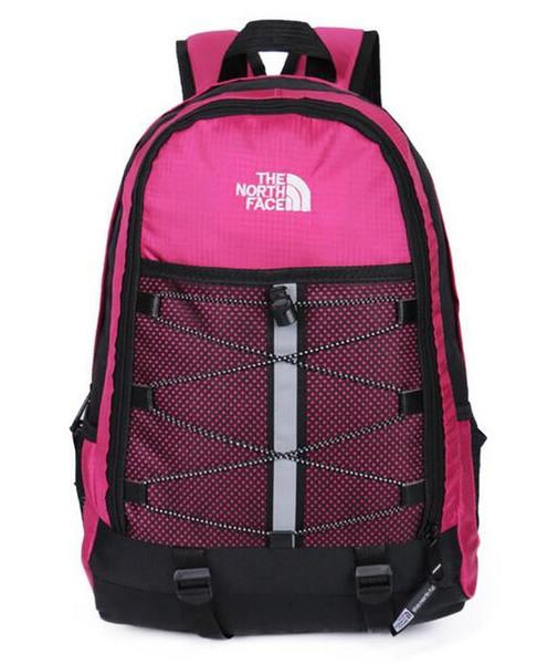 HOMBRE DEL NORTE LOS hombres mochila de hip-hop mochila escolar FACEITIED impermeable bolsa de viaje de niña niño mochila de viaje de gran capacidad mochila portátil