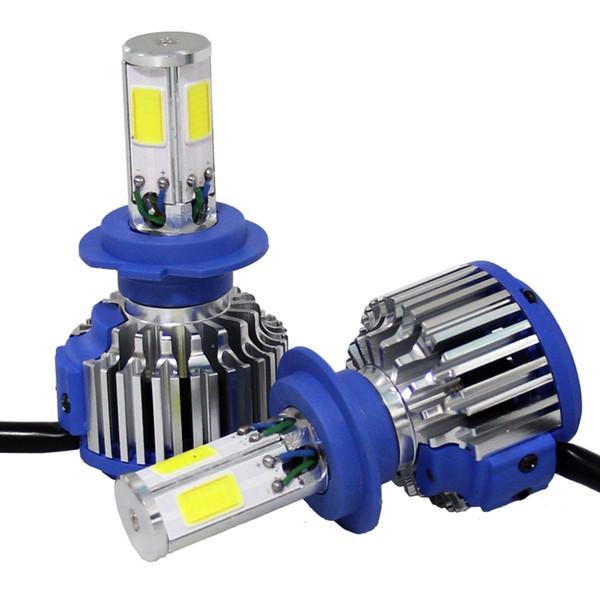Shipping by DHL 5 sets Z4 COB Chips H4 H13 9004 LED Headlight Kits H7 Car Bulbs H11 Fog Lamps 9006 Cooling Fan