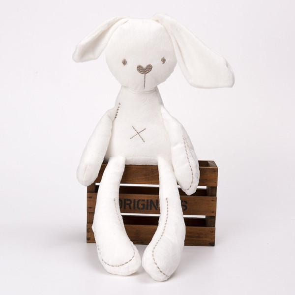 Cute Rabbit Bunny Baby Soft Plush Toys Mini Stuffed Animals Kids Baby Toys Smooth Obedient Sleeping Rabbit Doll Rabbit Baby Sleep Toy