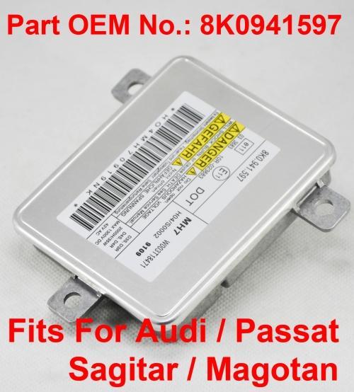 12 в 35 Вт D3S D4S OEM спрятал ксеноновые фары балласт модуль блока управления автомобиля номер детали 8K0941597 подходит для Audi Passat Sagitar Magotan