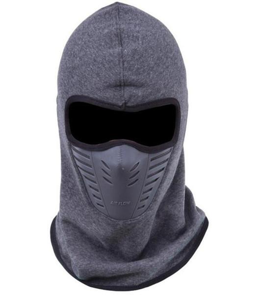 Dust-proof Cycling Face Mask Windproof Winter Warmer Fleece Bike Full Face Scarf Mask Neck Bicycle Snowboard Ski Men