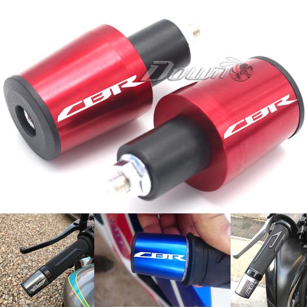 top popular For CBR600RR CBR1000RR CBR600F CBR 600RR Motorcycle Accessories 7 8'' 22MM Handlebar Grips Handle Bar Cap End Plugs 2020