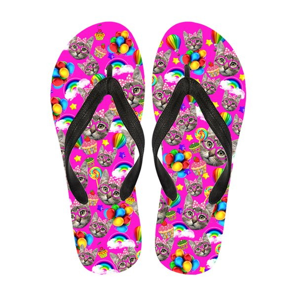 6b993f68d Good Quality Colorful Slipper Size Between 35-47 Custom Logo Rubber Women  Beach Sandals Flip