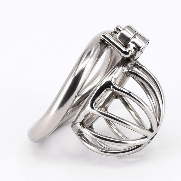 2016 Male Chastity cock Cage Stainless Steel Chastity Belt Bondage Fetish SM Sex Toys Art Cage Device With Chastity Devices