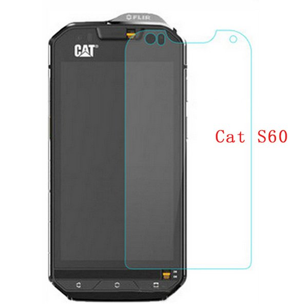 2PCS forS60 Tempered Glass 9H 2.5D Scratch Proof Screen Protector Film For Cat S60 Mobile Phone Case