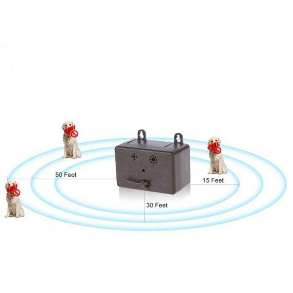 control Outdoor 9V Anti ing Device Stop Bark Training Device Dog Bark Control Mini Ultrasonic Silencer Tools Dog Supplies