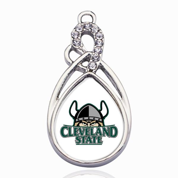 Bracelet breloques Cleveland State Vikings dans Bracelets à breloques