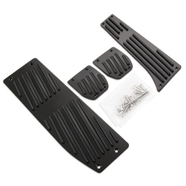 Los productos calientes del coche accesorios de aleación de aluminio MT Foot Pedals descansan para BMW X1 E30 E36 E39 E46 E87 E90 E91 E92 E93 M3 Car-Styling