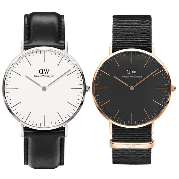 Uhren Herren Luxus Daniel Wellington Uhr DW Herren Damen Modedesigner Armbanduhren 36 40mm Mann Damen Paar Quarzuhr