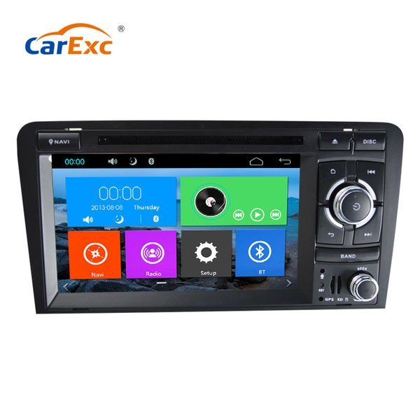 Car Multimedia Player GPS 2 Din für Audi / A3 / S3 2002-2011 Canbus Auto DVD-Player Radio Mikrofon kapazitiven Touchscreen CD USB