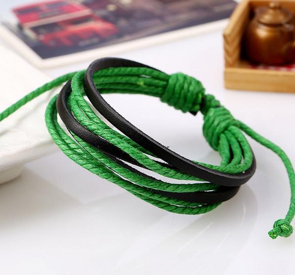 schwarz + grün