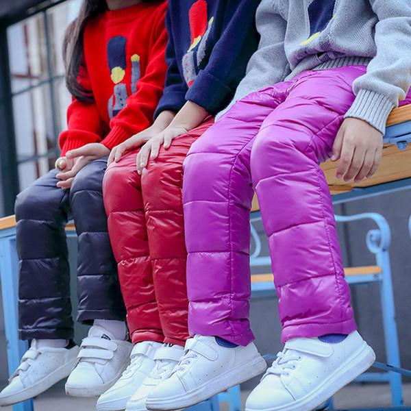 Erkek Pantolon Kızlar Tayt Çocuk Pantolon Kızlar Için Kış Çocuk Giysileri Aşağı Sonbahar çocuk Giysileri Erkek Giyim Çocuk 2018