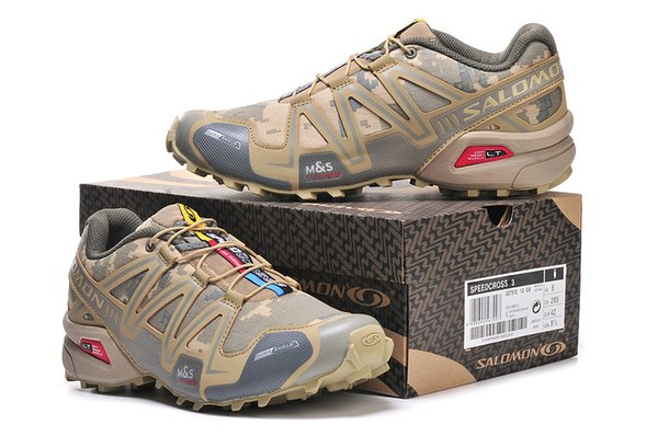 nouveau style 3be51 12243 2019 Salomon Speed Cross 3 CS III Camo Yellow Men Outdoor Crosspeed 3  Running Shoes Sneakers Size 40 46 From Caijianxiong, $83.66   DHgate.Com