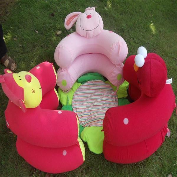 Bleu Blossom Farm Sit Cozy bébé tapis de jeu multi-fonction Singe Lapin Nid Tapis pour bébé de sécurité gonflable Sofa Kid jouets 28cs ff