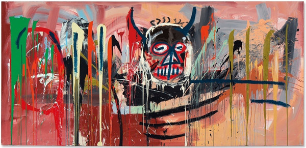 2019 Jean Michel Basquiat 1,Canvas Prints Wall Art Oil Painting Home Decor  Unframed/Framed From Xiaolin2018, $9 4 | DHgate Com