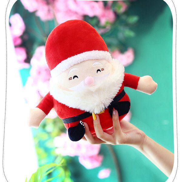 Großhandel Dhl 40 Stücke Weihnachten Weihnachtsmann Maschine Baby Puppe Plüschtiere 20 Cm Ornamente Dekoration Für Zuhause Weihnachten Neujahr Kinder