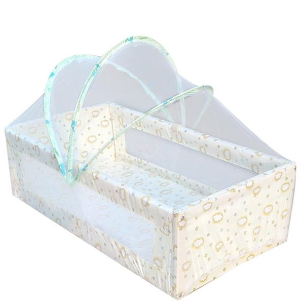 Delicate Universal Babies Cradle Bed Mosquito Nets Summer Safe Arched Ger Type Mosquitos Net for Kids