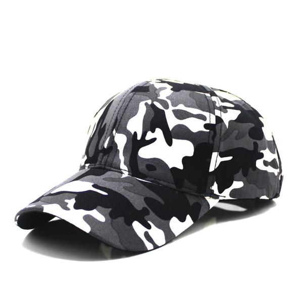 2018 Snow CaBaseball Caps Men Summer Cap Tactical Camouflage Hat For Men Women High Quality Bone Masculino Dad Hat Caps