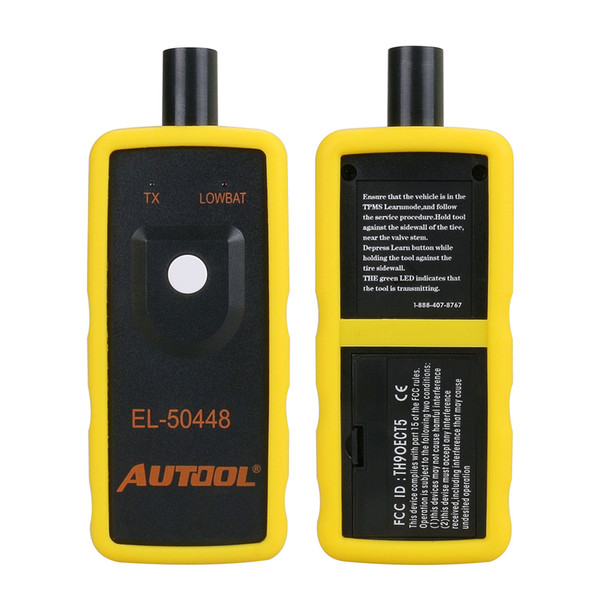 EL-50448 Auto Tire Pressure Monitor Sensor Activation Tool TPMS Reset For GM 315/433MHz Pressure Monitor Sensor
