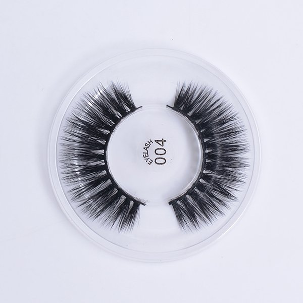 3D Natural False Eyelashes Soft Silk Fiber Fake Lashes Cross Long Wispy Sexy Eye Lashes Extension Beauty Makeup Tools 004
