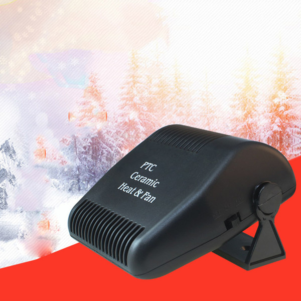 Car Styling 12V 120W Heater Fan Heating Windscreen Defroster Demister Automobiles Driving Portable Interior Accessories New