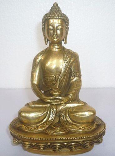 Tibetan Buddhism Bronze Shakyamuni Sakyamuni Buddha Statue