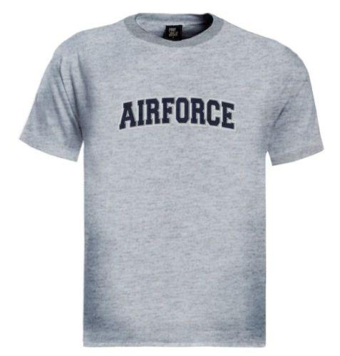 AIR FORCE logotipo Bordado remendo T-Shirt Airborne EUA Forças Armadas Do Exército Engraçado frete grátis Unisex Casual tee presente