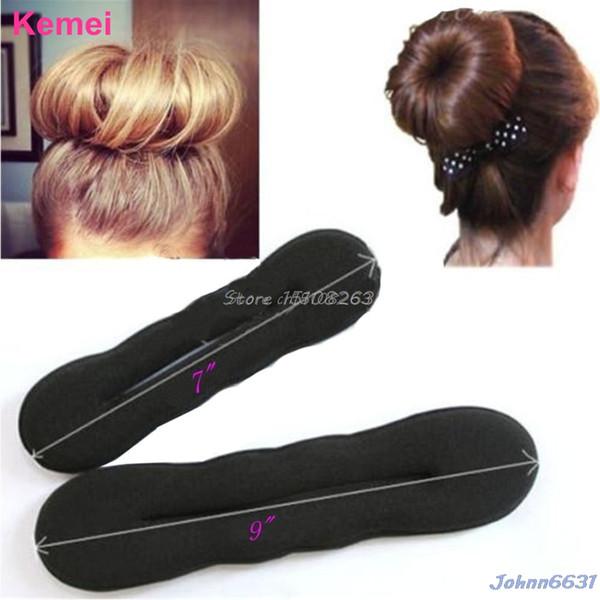 Magic Sponge Clip Foam Donut Hair Styling Bun Curler Tool Maker Ring Twist